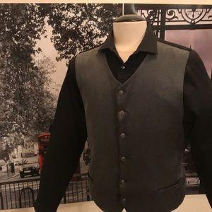 6 buttons vest